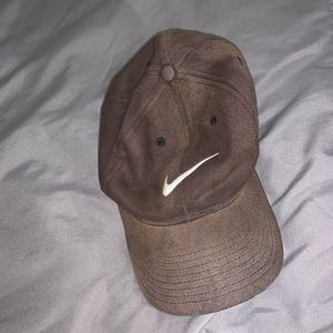 nike brown baseball hat